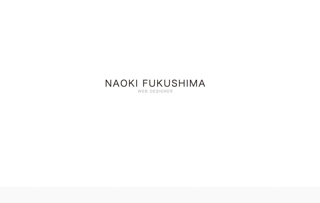 NAOKI FUKUSHIMA