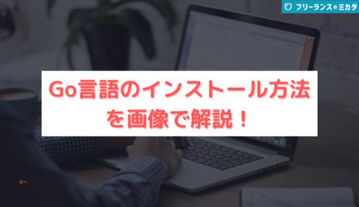 【5分でわかる】Go言語のインストール方法を画像で解説!注意点も紹介